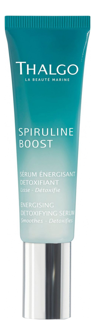 Купить Энергетическая детокс сыворотка для лица Spiruline Boost Serum Energisant Detoxifiant 30мл, Thalgo