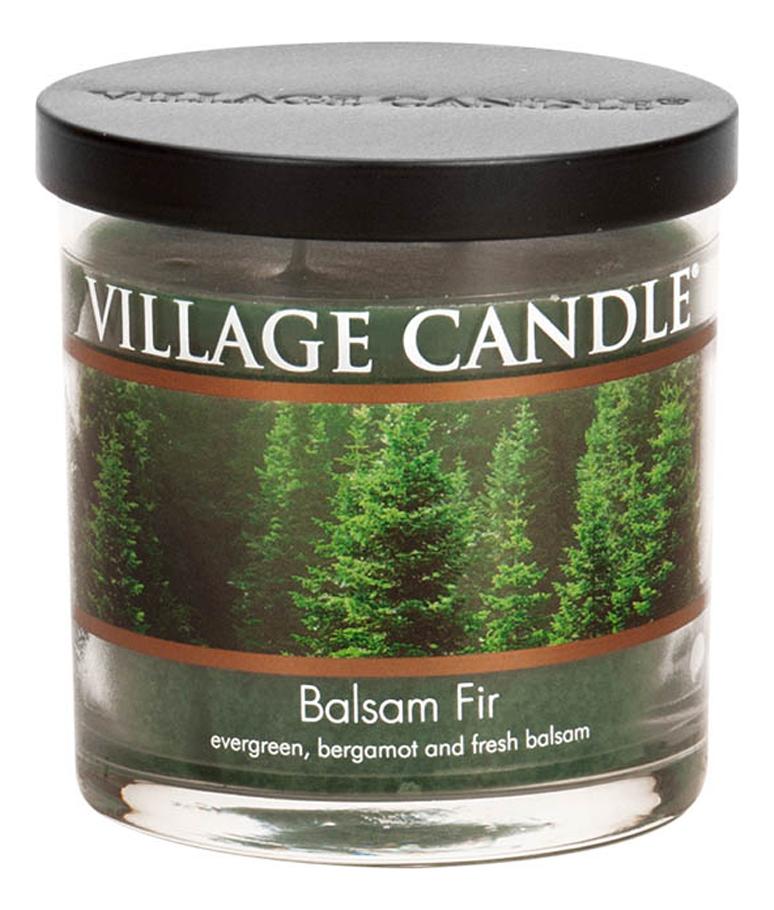 Купить Ароматическая свеча Balsam Fir: свеча 213г, Village Candle