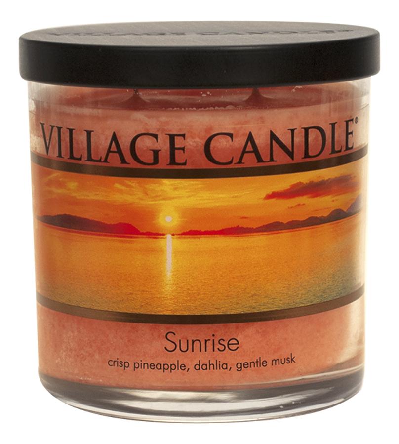 Купить Ароматическая свеча Sunrise: свеча 213г, Village Candle