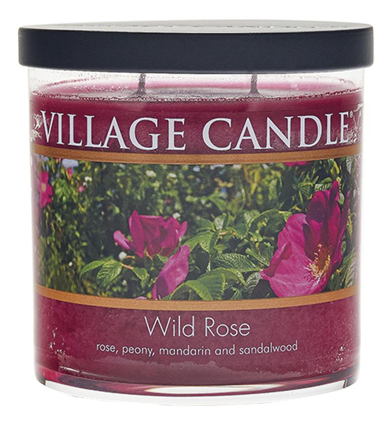 Купить Ароматическая свеча Wild Rose: свеча 213г, Village Candle