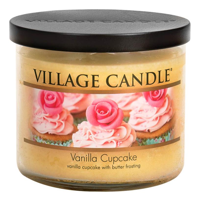 Фото - Ароматическая свеча Vanilla Cupcake: свеча 396г ароматическая свеча vanilla bean свеча 85г