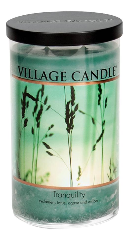 Купить Ароматическая свеча Tranquility: свеча 538г, Village Candle