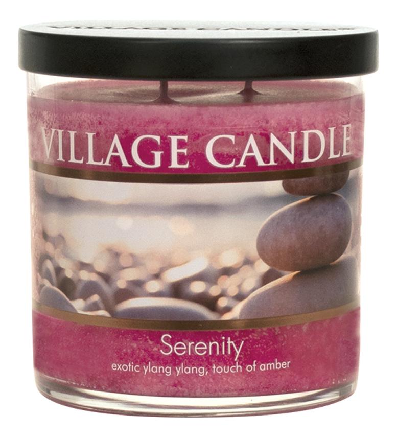 Купить Ароматическая свеча Serenity: свеча 213г, Village Candle