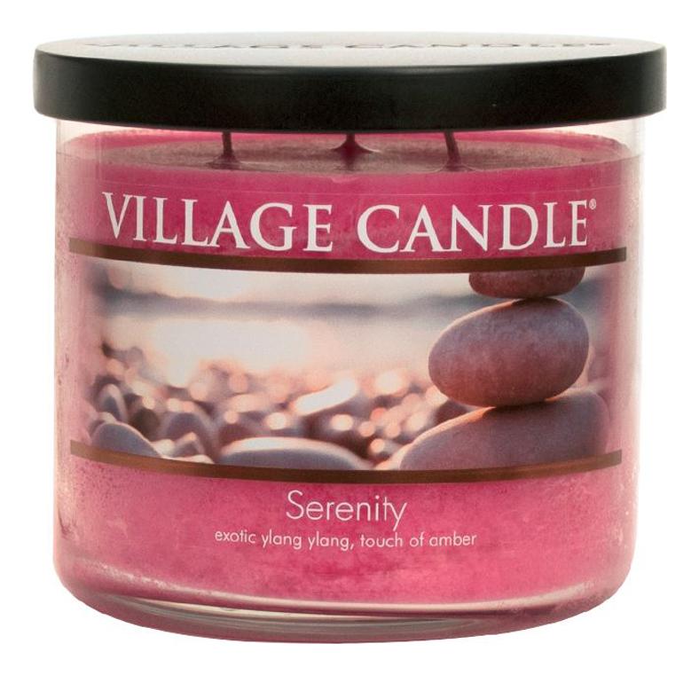 Купить Ароматическая свеча Serenity: свеча 396г, Village Candle