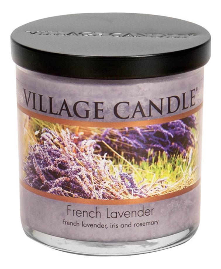 Купить Ароматическая свеча French Lavender: свеча 213г, Village Candle