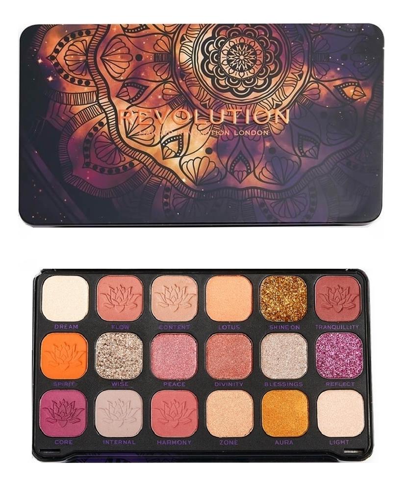 Купить Палетка теней для век Forever Flawless 19, 8г: Namaste, Makeup Revolution