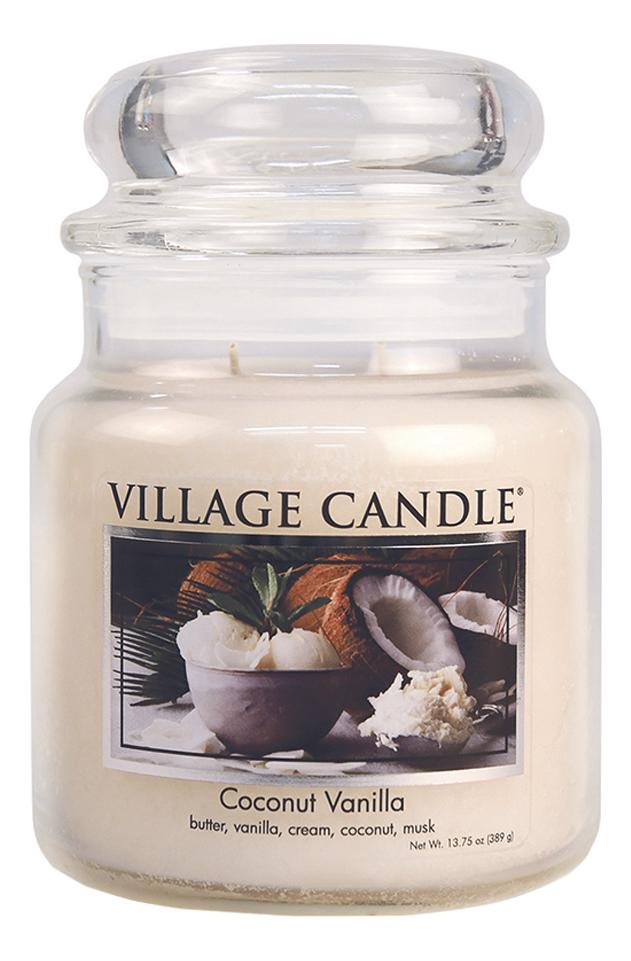 Фото - Ароматическая свеча Coconut Vanilla: свеча 389г ароматическая свеча vanilla bean свеча 85г