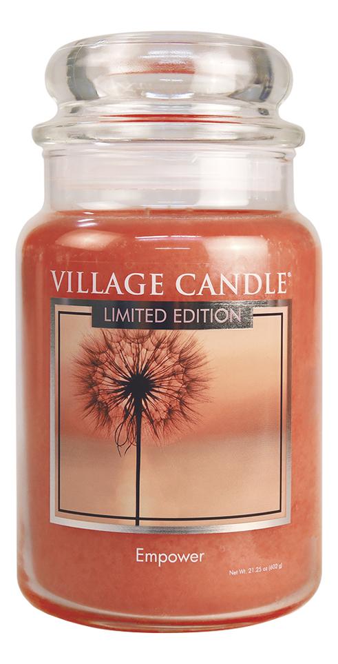 Купить Ароматическая свеча Empower: свеча 602г, Village Candle