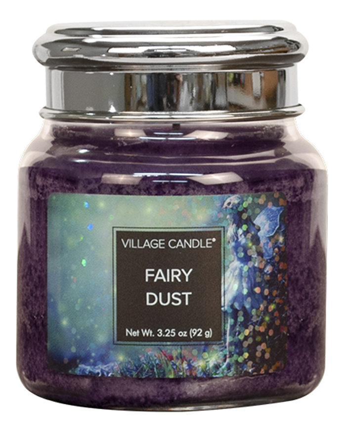 Купить Ароматическая свеча Fairy Dust: свеча 92г, Village Candle