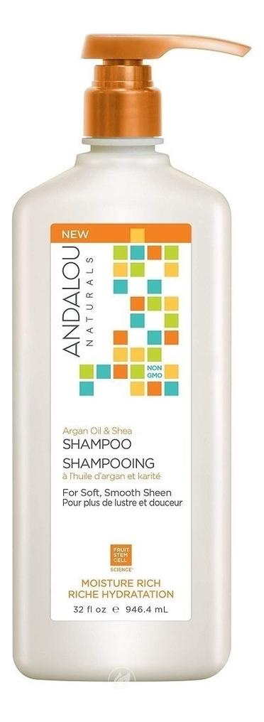 Шампунь для увлажнения волос Moisture Rich Argan Oil & Shea Shampoo: Шампунь 946,4мл
