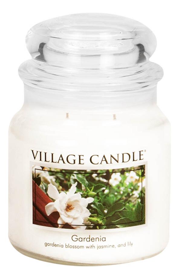 Купить Ароматическая свеча Gardenia: свеча 389г, Village Candle