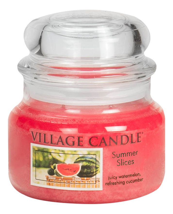 Купить Ароматическая свеча Summer Slices: свеча 92г, Village Candle