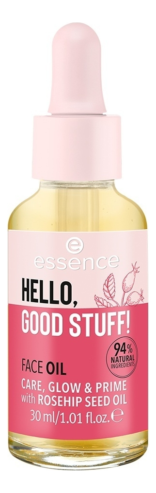 Купить Масло-праймер для лица Hello, Good Stuff! 30мл, essence