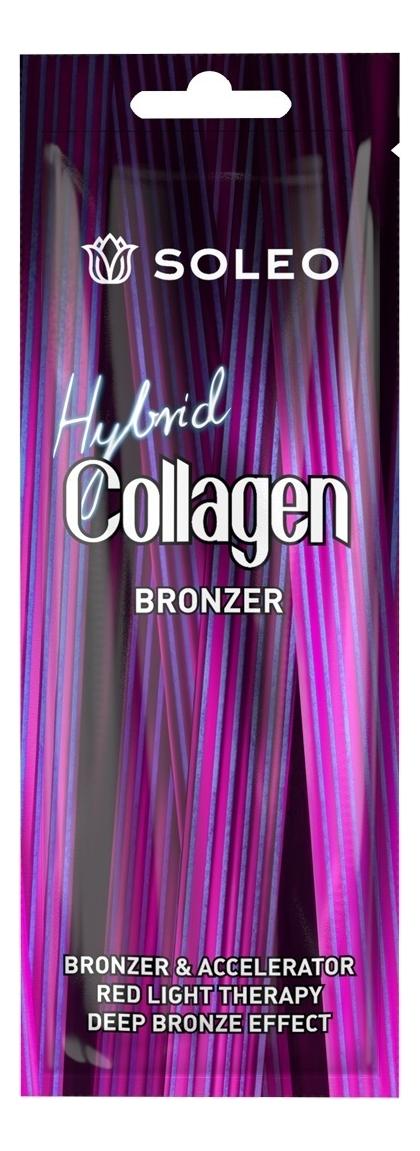 Фото - Гибридный коллагеновый бронзатор для загара Collagen Hybrid Bronzer: Бронзатор 15мл soleo крем бронзатор sunset time темный для загара с комплексом морских водорослей 150 мл