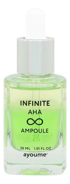 Купить Ампульная сыворотка для лица с кислотами Infinite AHA Ampoule 30мл, Ayoume