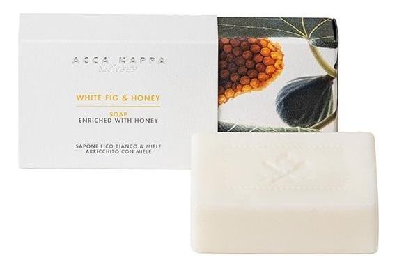 Купить Твердое туалетное мыло Белый инжир и мед White Fig & Honey Soap 150г, Твердое туалетное мыло Белый инжир и мед White Fig & Honey Soap 150г, Acca Kappa