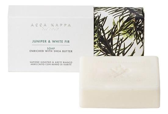 Купить Твердое туалетное мыло Можжевельник и белая пихта Juniper & White Fir Soap 150г, Твердое туалетное мыло Можжевельник и белая пихта Juniper & White Fir Soap 150г, Acca Kappa