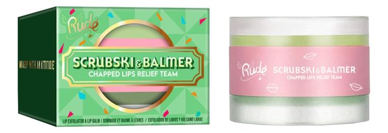 Купить Скраб и бальзам для губ Scrubski & Balmer Lip Exfoliator And Lip Balm 4г: Fresh Mint, Скраб и бальзам для губ Scrubski & Balmer Lip Exfoliator And Lip Balm 4г, Rude
