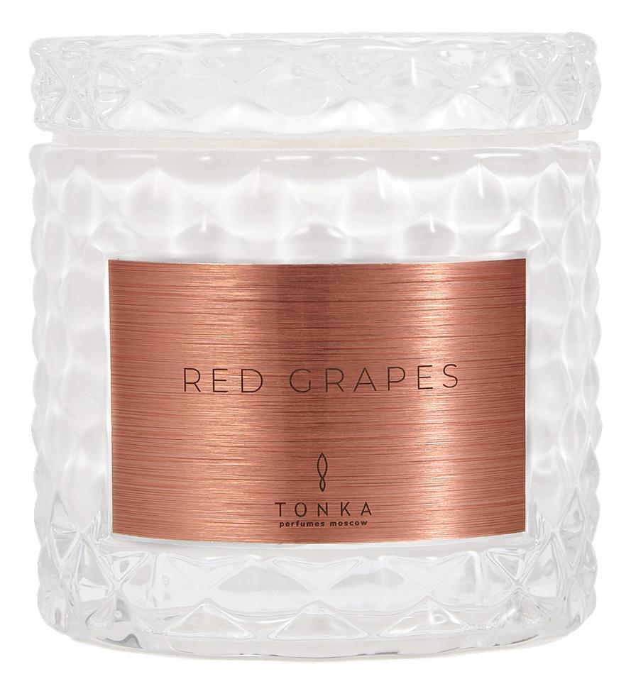 Купить Ароматическая свеча Red Grapes: свеча 50г, Tonka Perfumes Moscow