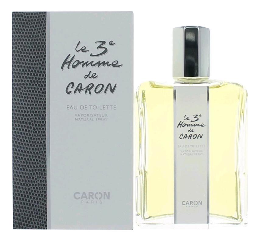 Caron Le 3' Homme De Caron Винтаж: туалетная вода 125мл cartier must de cartier pour homme туалетная вода тестер 50 мл