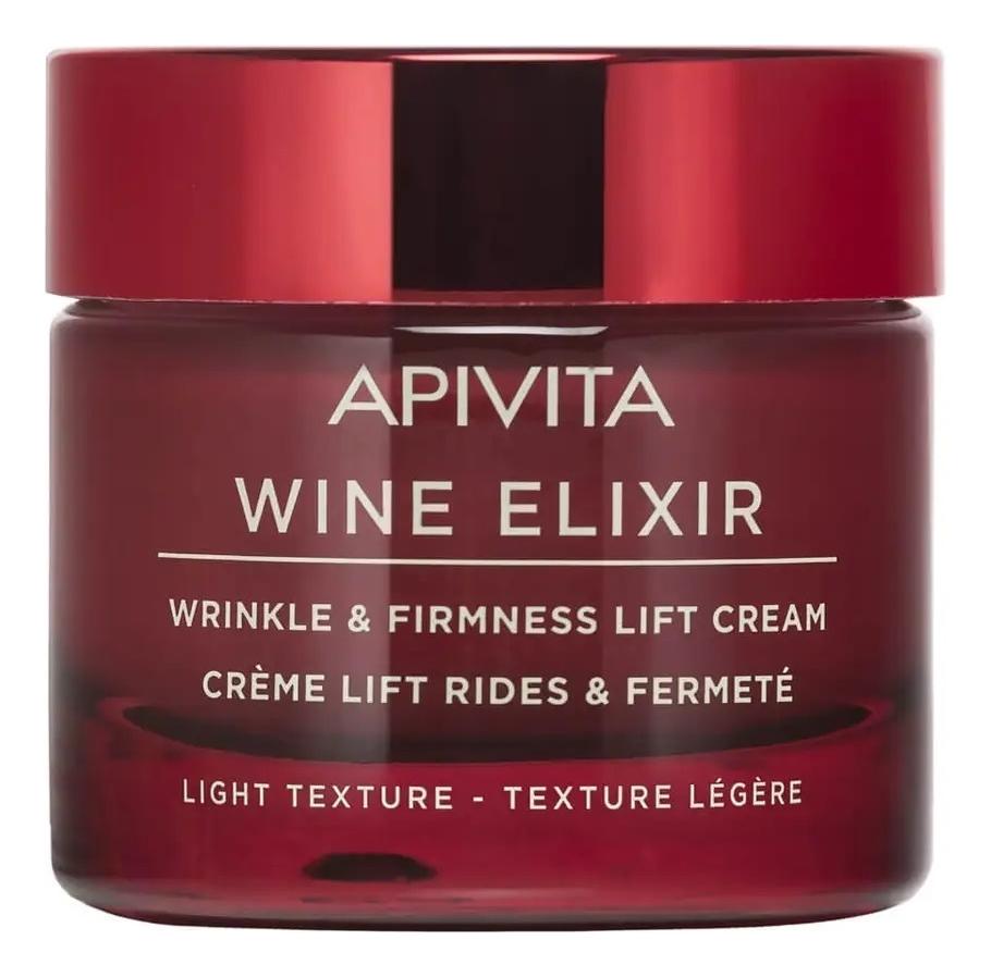 Купить Легкий крем-лифтинг для повышения упругости кожи лица Wine Elixir Wrinkle & Firmness Lift Cream Light Texture 50мл, Легкий крем-лифтинг для повышения упругости кожи лица Wine Elixir Wrinkle & Firmness Lift Cream Light Texture 50мл, APIVITA