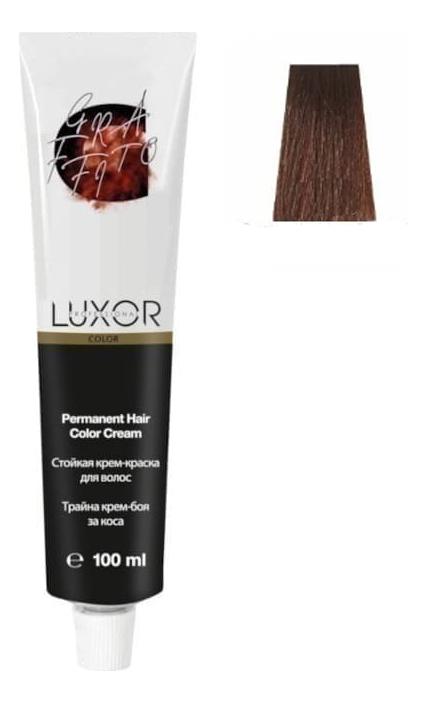 Купить Стойкая крем-краска для волос с протеинами пшеницы Luxor Color Permanent Hair Color Cream 100мл: 8.430 Светлый блондин интенсивный медный золотистый, Luxor Professional