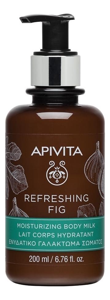 Купить Увлажняющее молочко для тела с экстрактом инжира Refreshing Fig Moisturizing Body Milk: Молочко 200мл, APIVITA