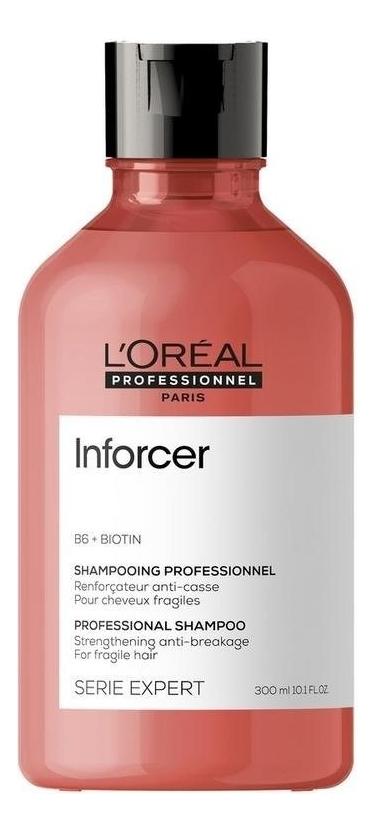 Купить Укрепляющий шампунь против ломкости волос Serie Expert Inforcer B6 + Biotion Shampooing 300мл, L'Oreal Professionnel