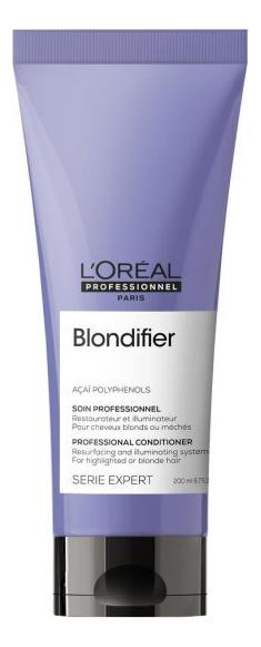 Купить Кондиционер для осветленных и мелированных волос Serie Expert Blondifier 200мл, L'Oreal Professionnel