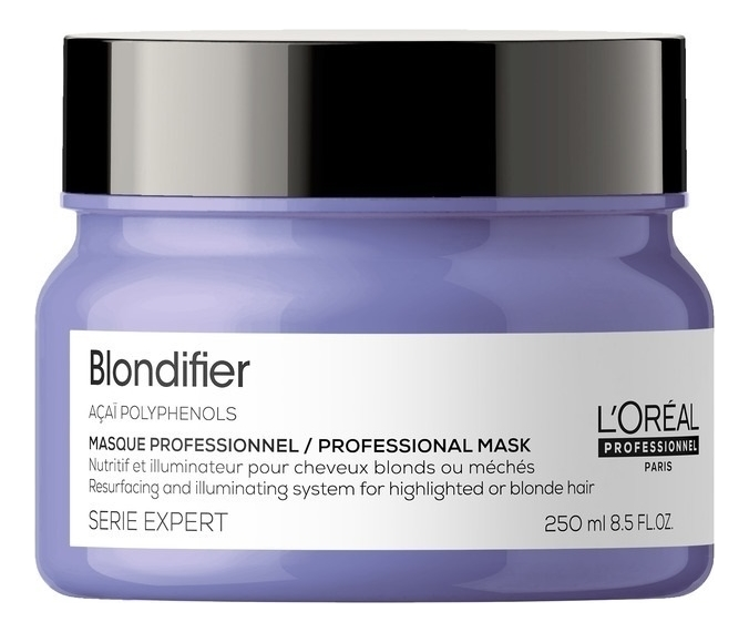 Купить Маска для сияния волос Serie Expert Blondifier Masque 250мл, L'Oreal Professionnel