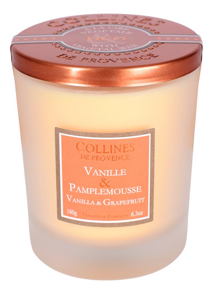 Фото - Ароматическая свеча Vanilla-Grapefruit (ваниль и грейпфрут): свеча 180г ароматическая свеча lavender vanilla лаванда и ваниль свеча 680г