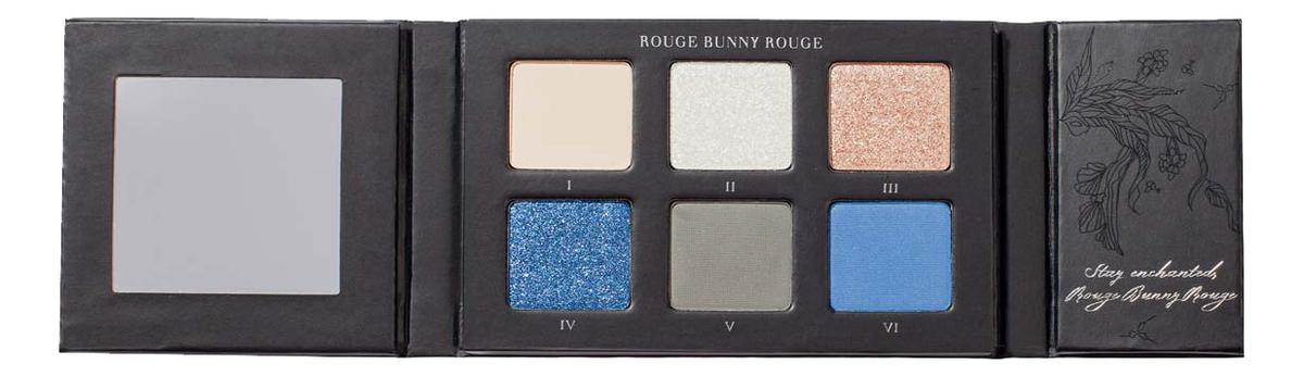 Купить Палитра теней для век Enchanted Forest Eye Shadow Palette 9г: 105 The Blue Star-sprinkled Night, Rouge Bunny Rouge