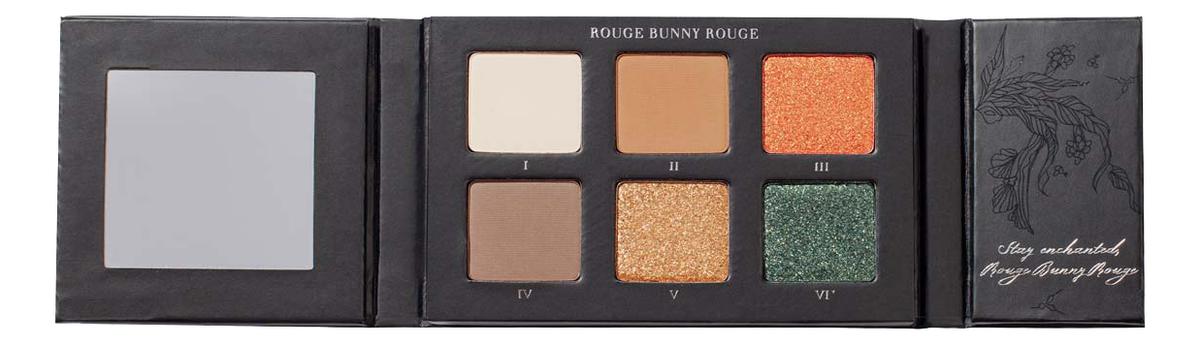 Купить Палитра теней для век Enchanted Forest Eye Shadow Palette 9г: 107 Tender Equilibrium, Rouge Bunny Rouge