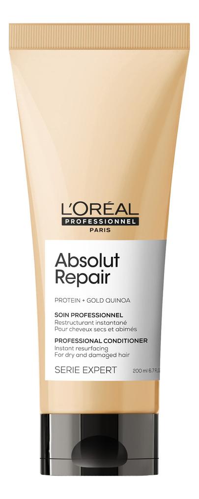 Купить Восстанавливающий кондиционер для сильно поврежденных волос Serie Expert Absolut Repair Protein + Gold Quinoa 200мл, L'Oreal Professionnel