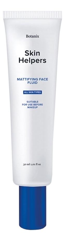 Купить Матирующий флюид для лица с ниацинамидом и конопляным маслом Skin Helpers 30мл, Gloria