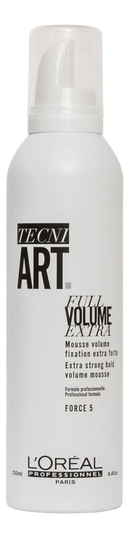 Купить Мусс для объема нормальных и непослушных волос Tecni. Art Full Volume Extra 250мл, L'Oreal Professionnel