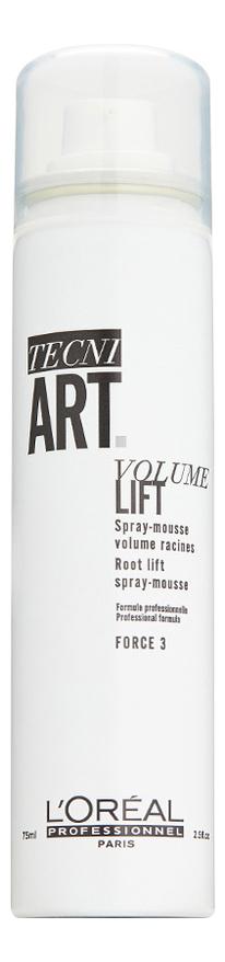 Купить Спрей-мусс для прикорневого объема волос Tecni. Art Volume Lift: Спрей-мусс 75мл, L'Oreal Professionnel