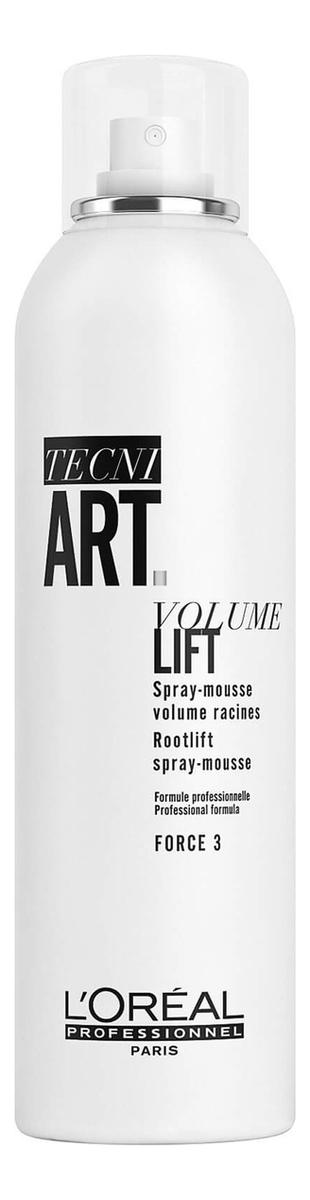 Купить Спрей-мусс для прикорневого объема волос Tecni. Art Volume Lift: Спрей-мусс 250мл, L'Oreal Professionnel