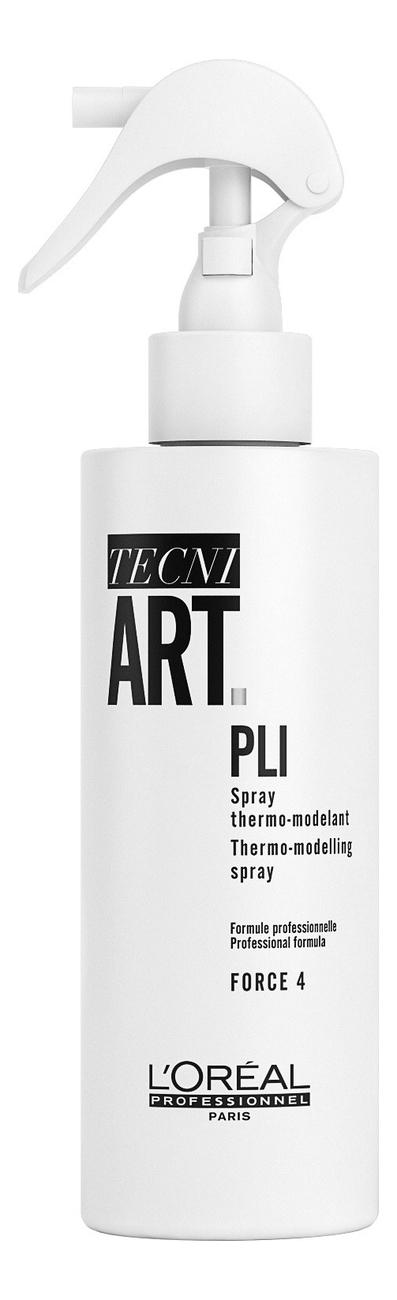 Купить Термо-фиксирующий спрей для укладки волос Tecni. Art Pli 190мл, L'Oreal Professionnel