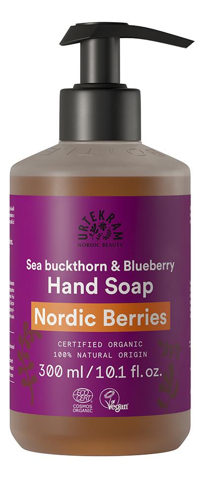 Жидкое мыло для рук с витаминами и антиоксидантами Organic Hand Soap Nordic Berries: Мыло 300мл