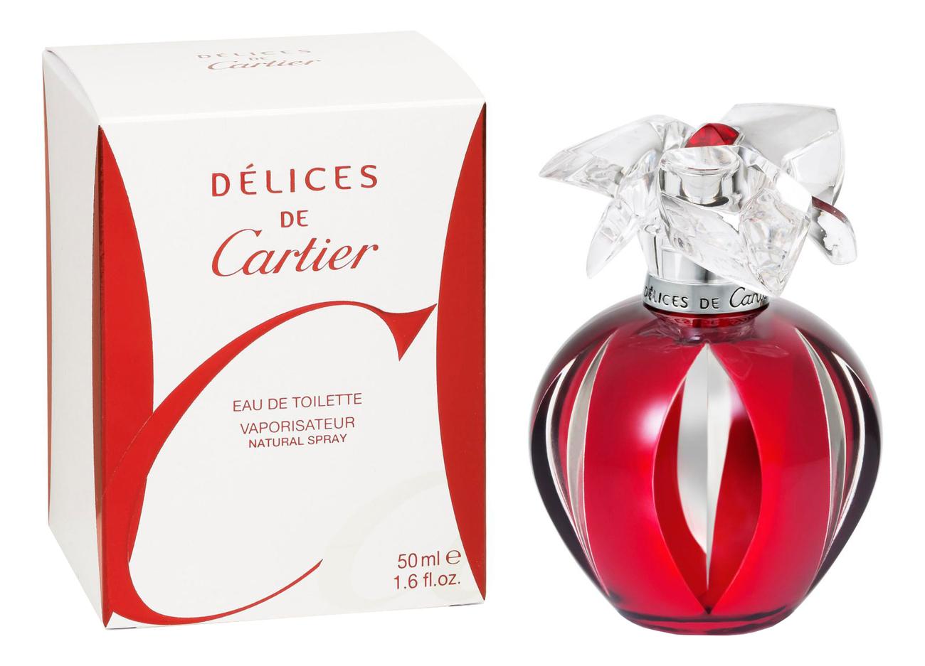 Delices De Cartier: туалетная вода 50мл pasha de cartier edition noire sport туалетная вода 50мл