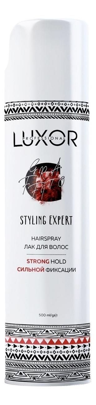 Купить Лак для волос сильной фиксации Luxor Styling Expert Hairspray 500мл, Luxor Professional