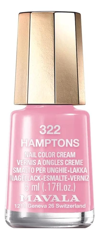 Фото - Лак для ногтей Nail Color Cream 5мл: 322 Hamptons лак для ногтей nail color cream 5мл 312 poetic rose