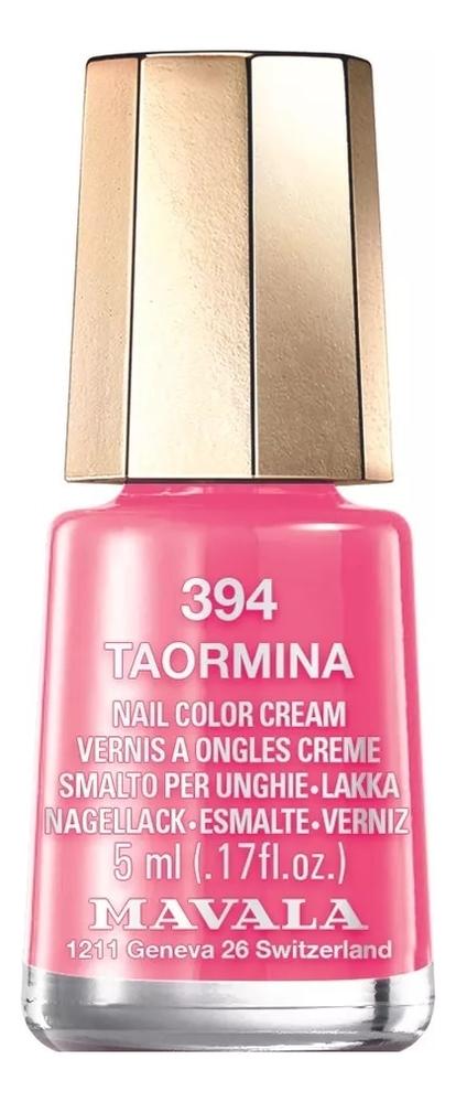 Фото - Лак для ногтей Nail Color Cream 5мл: 394 Taormina лак для ногтей nail color cream 5мл 312 poetic rose