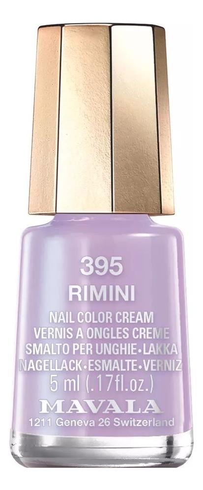 Фото - Лак для ногтей Nail Color Cream 5мл: 395 Rimini лак для ногтей nail color cream 5мл 322 hamptons