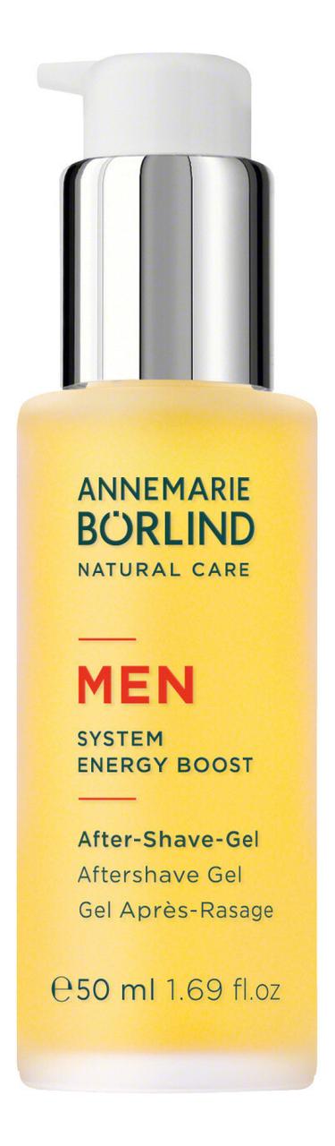 Освежающий гель после бритья Men System Energy Boost Aftershave Gel 50мл