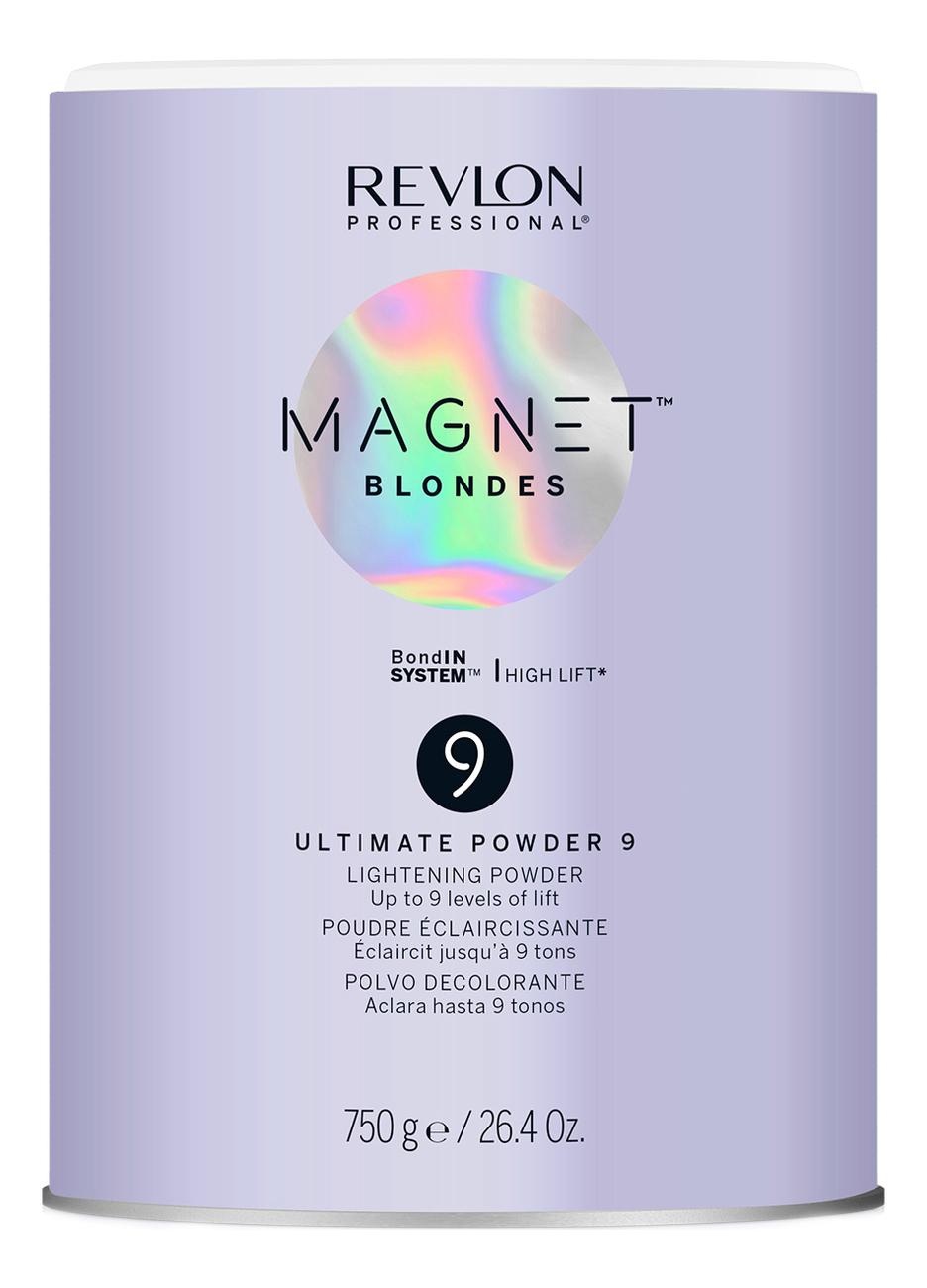 Купить Осветляющая пудра для волос Magnet Blondes 9 Ultimate Powder Lightening Powder 750г, Revlon Professional