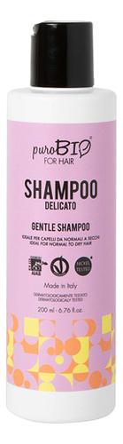 Купить Шампунь для волос Мягкий Delicato Shampoo 200мл, puroBIO
