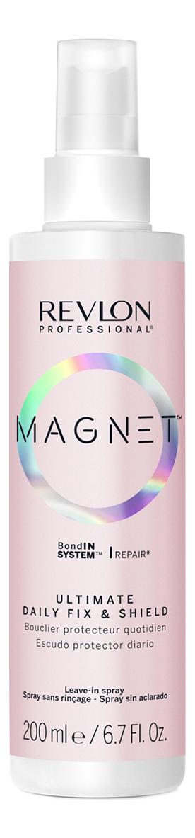 Фото - Ежедневный несмываемый спрей для волос Magnet Ultimate Fix & Shield 200мл revlon professional equave anti breakage несмываемый спрей кондиционер для мгновенного распутывания волос 200мл