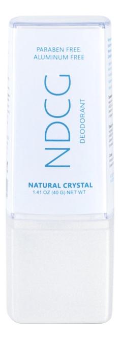 Купить Натуральный кристаллический минеральный дезодорант Deodorant Natural Crystal: Дезодорант 40г, NDCG